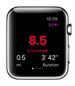 Select the most relevant statistics on your iPhone and see them at a glance on your wrist.